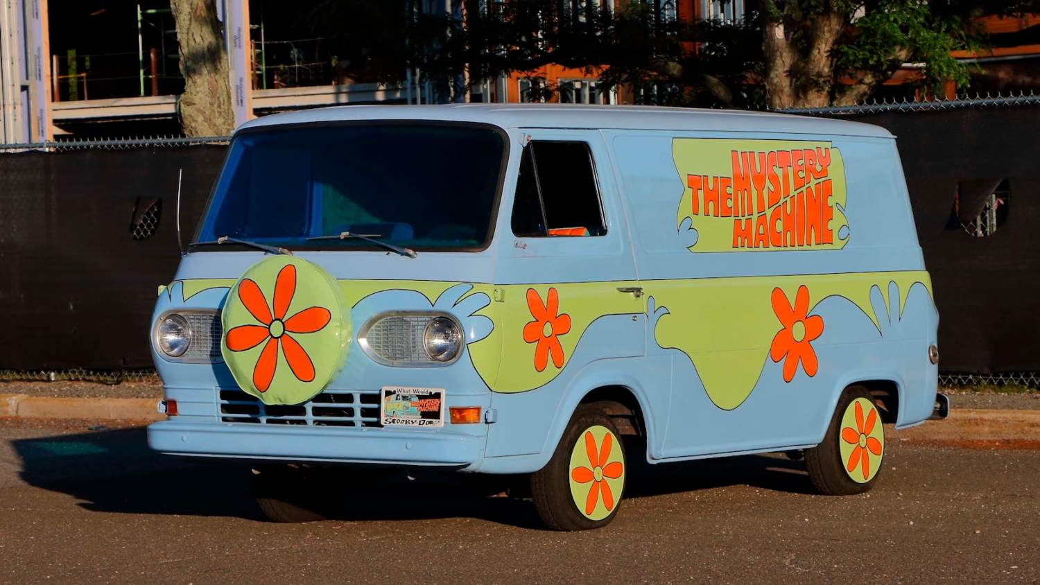 1966 Ford Econoline Van Mystery Machine Replica