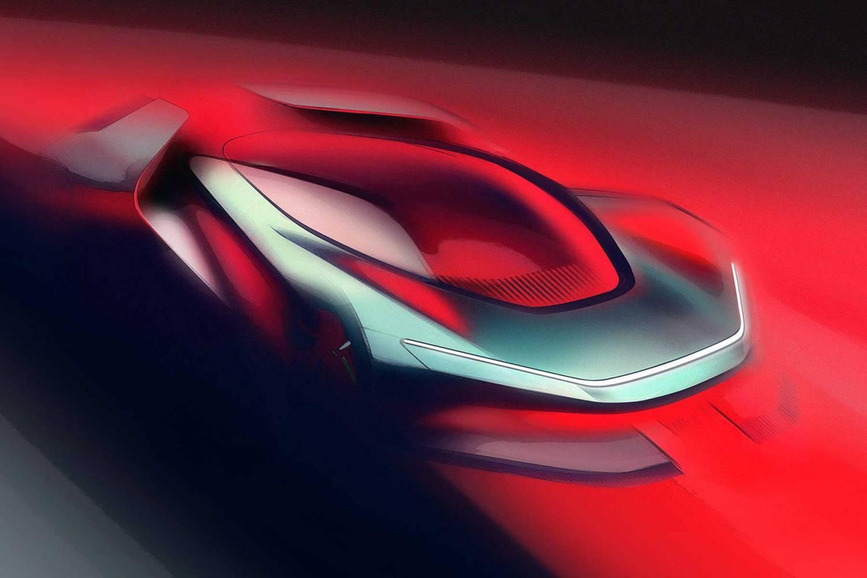 Automobili Pininfarina PF0 concept sketch