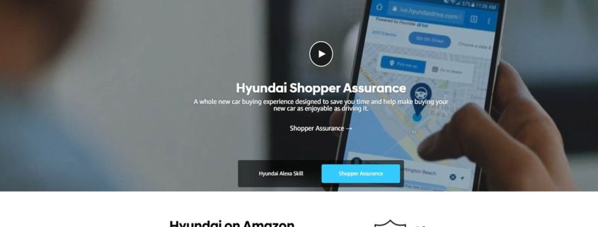 Hyundai launches Amazon digital showroom