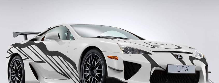 Lexus LFA art car