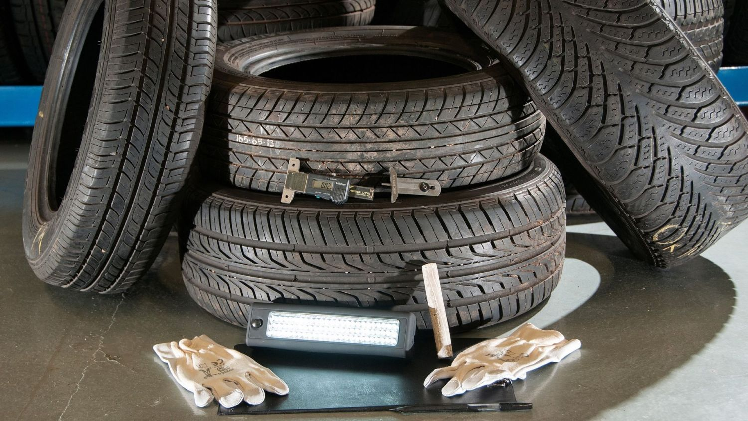 dangerous part worn tyres