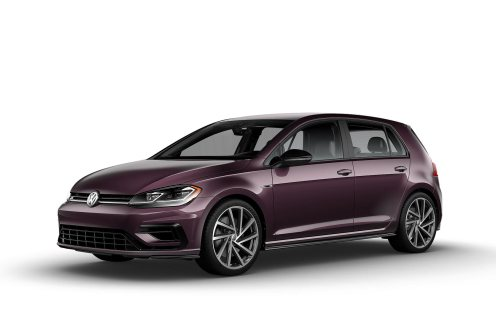 2019 VW Golf R Dark Burgundy