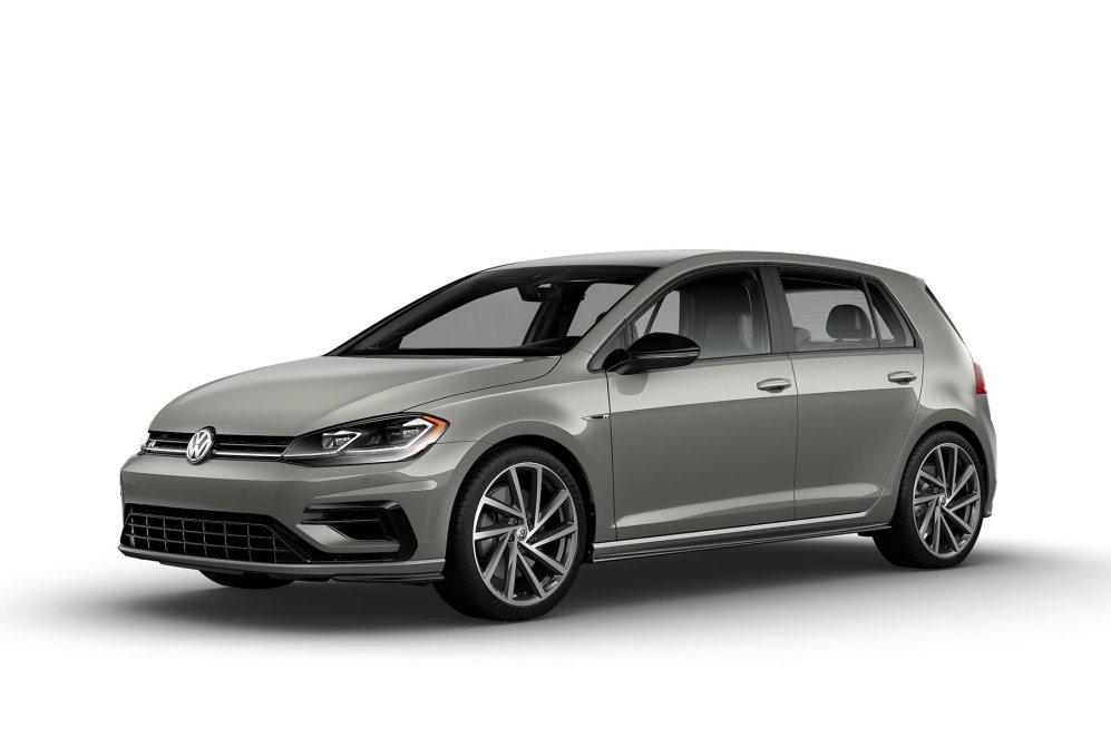 2019 VW Golf R Dust Gray