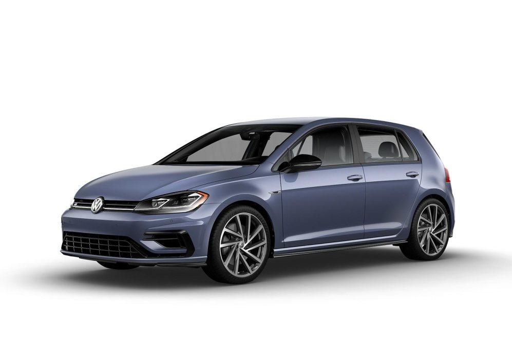 2019 VW Golf R Ice Blue