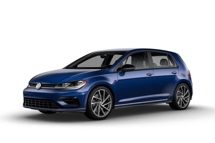 2019 VW Golf R Inky Blue