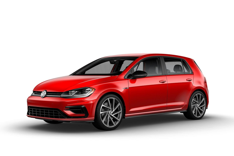 2019 VW Golf R Mars Red