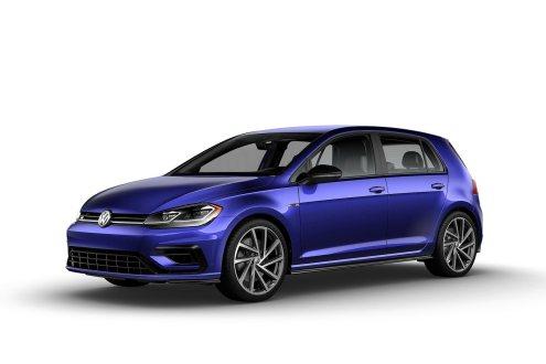 2019 VW Golf R Mystic Blue Pearl
