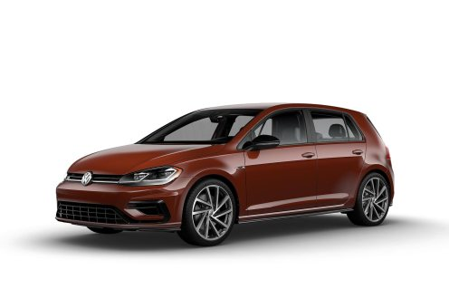 2019 VW Golf R Oxide Red