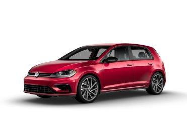 2019 VW Golf R Raspberry Red