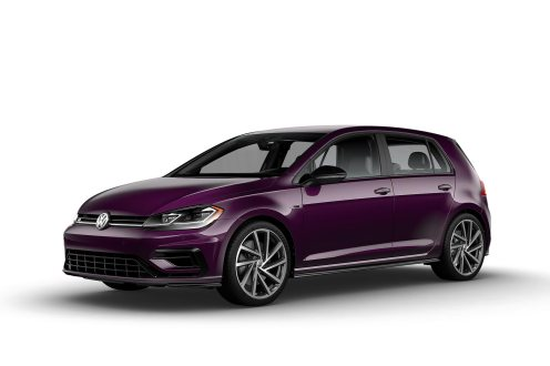 2019 VW Golf R Violet Touch