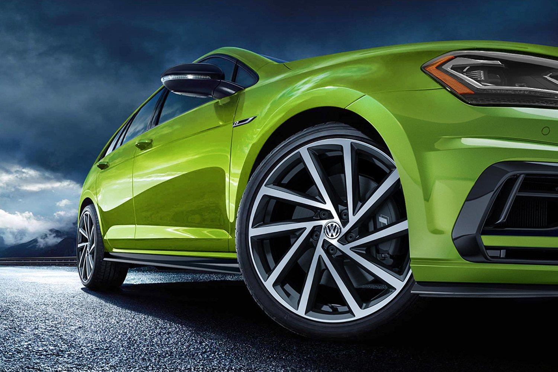 2019 VW Golf R Viper Green