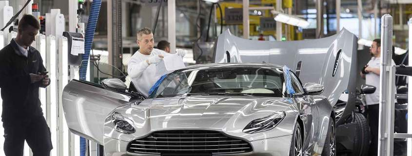 Aston Martin Gaydon manufacturing