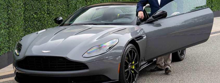 Aston Martin CEO Dr Andy Palmer