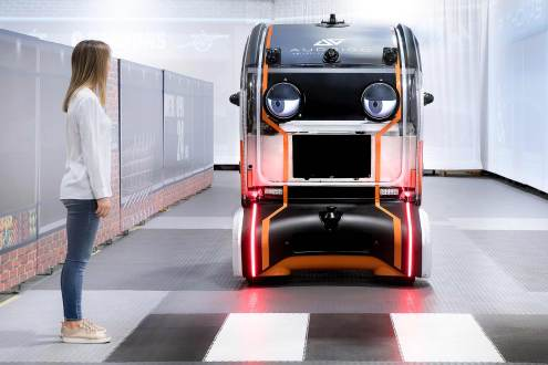 JLR Virtual Eye autonomous test pod