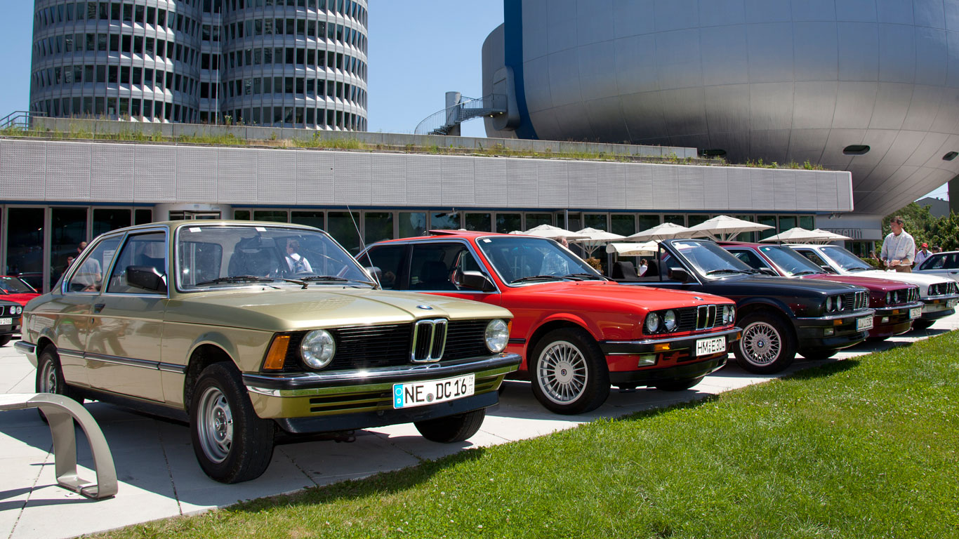 The history of the BMW 3 Series