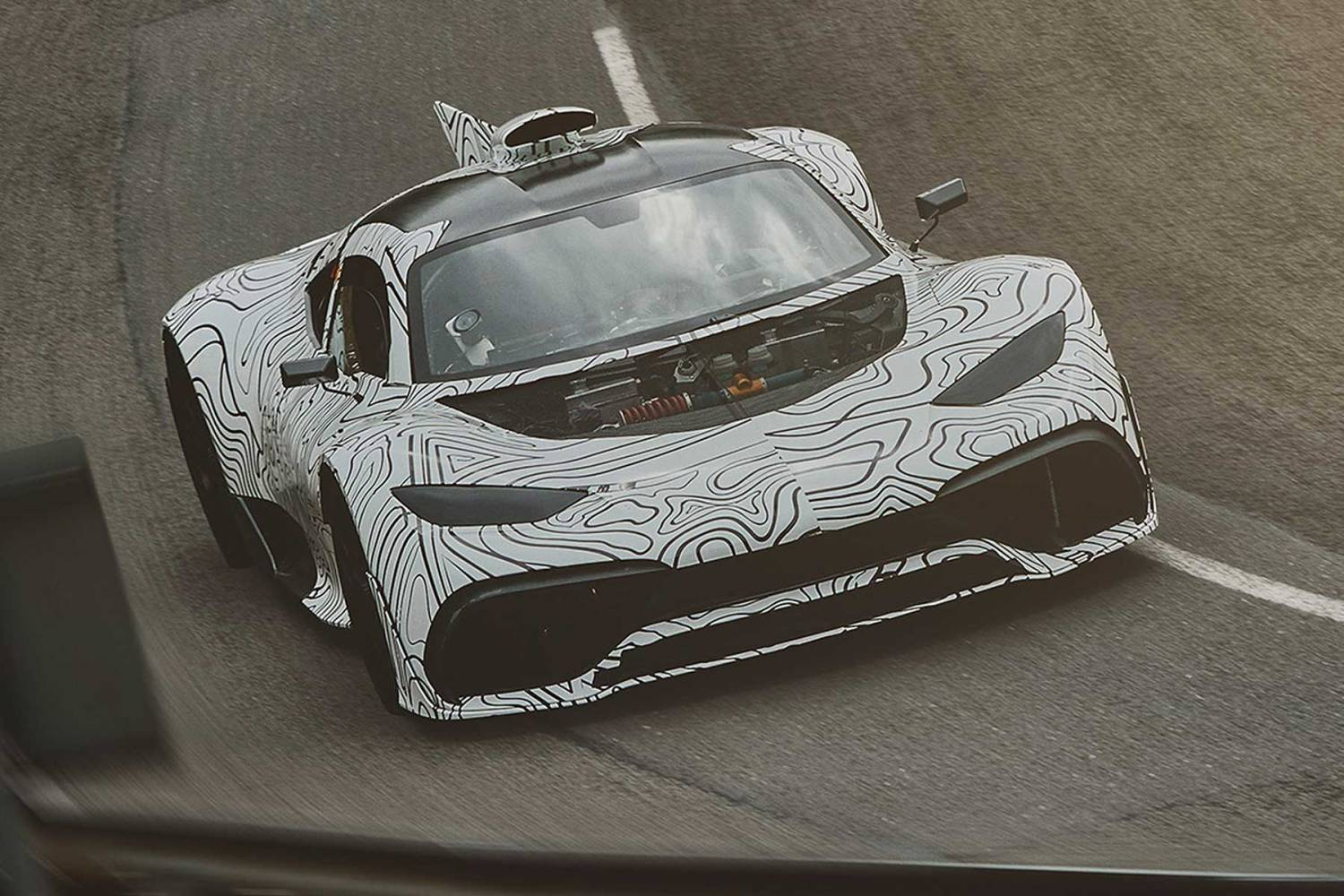 Mercedes-AMG Project One prototype