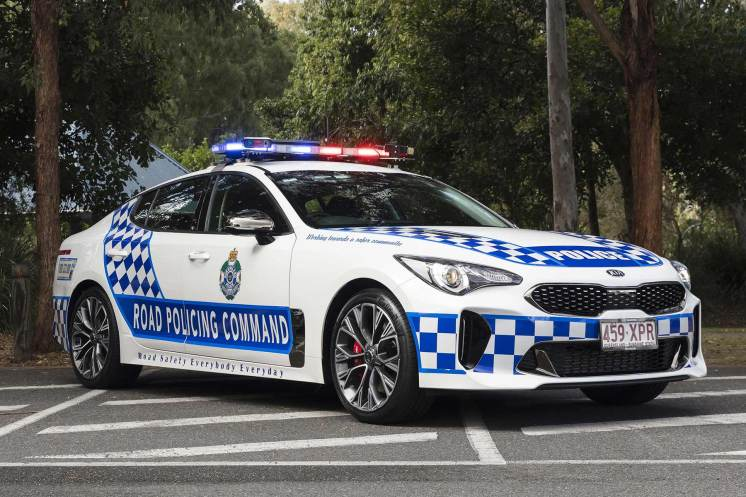 Kia Stinger joins Western Australian police force