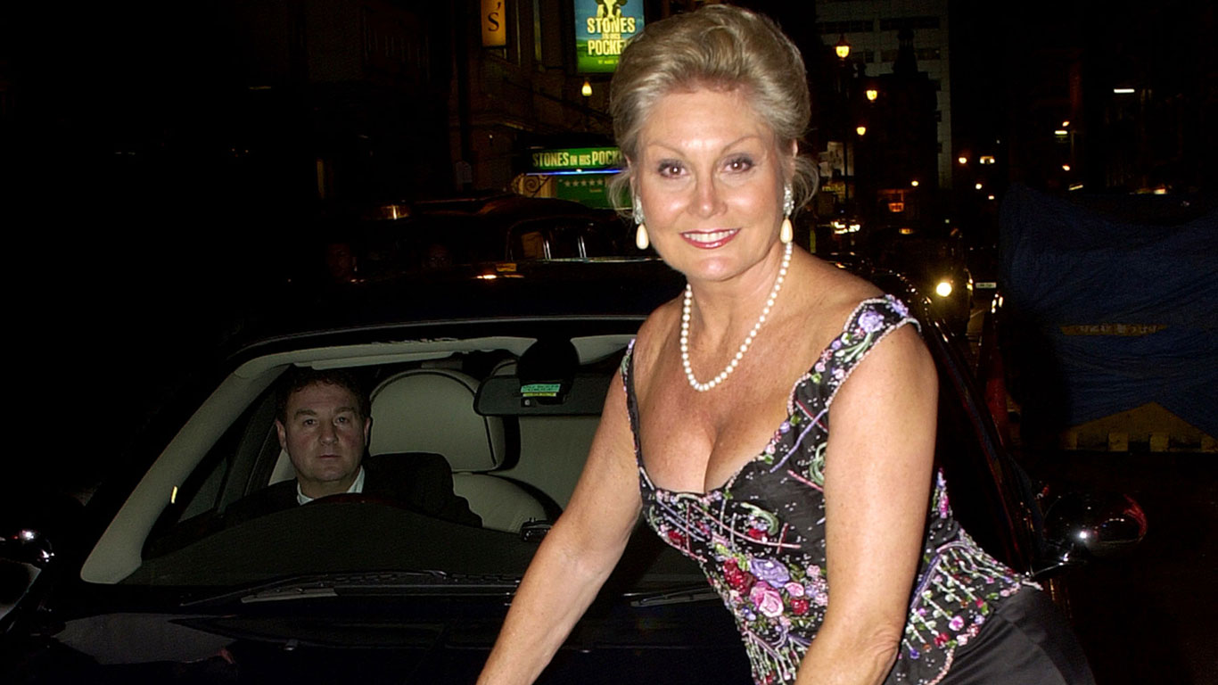 Top Gear presenter Angela Rippon