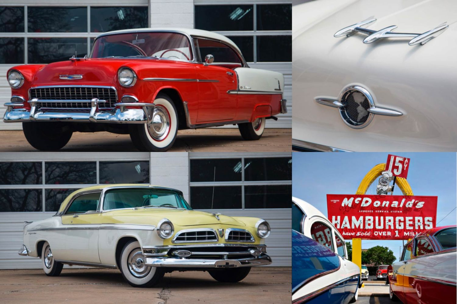 At The Drive In Mcdonald S Classic Car Collection Up For Auction