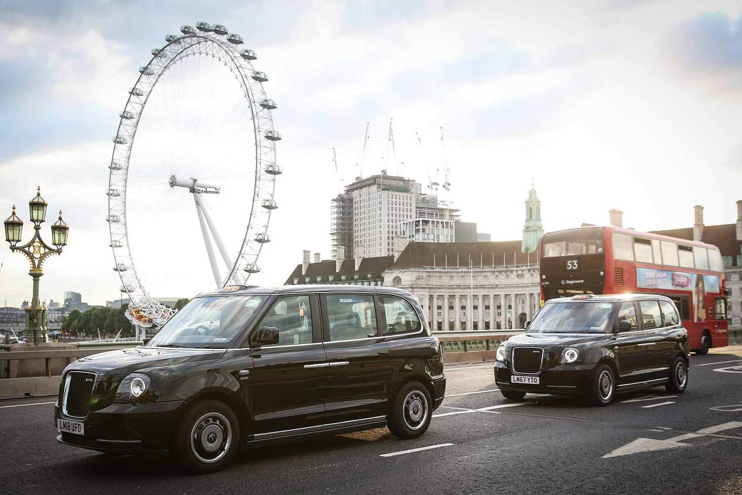 London electric black cab