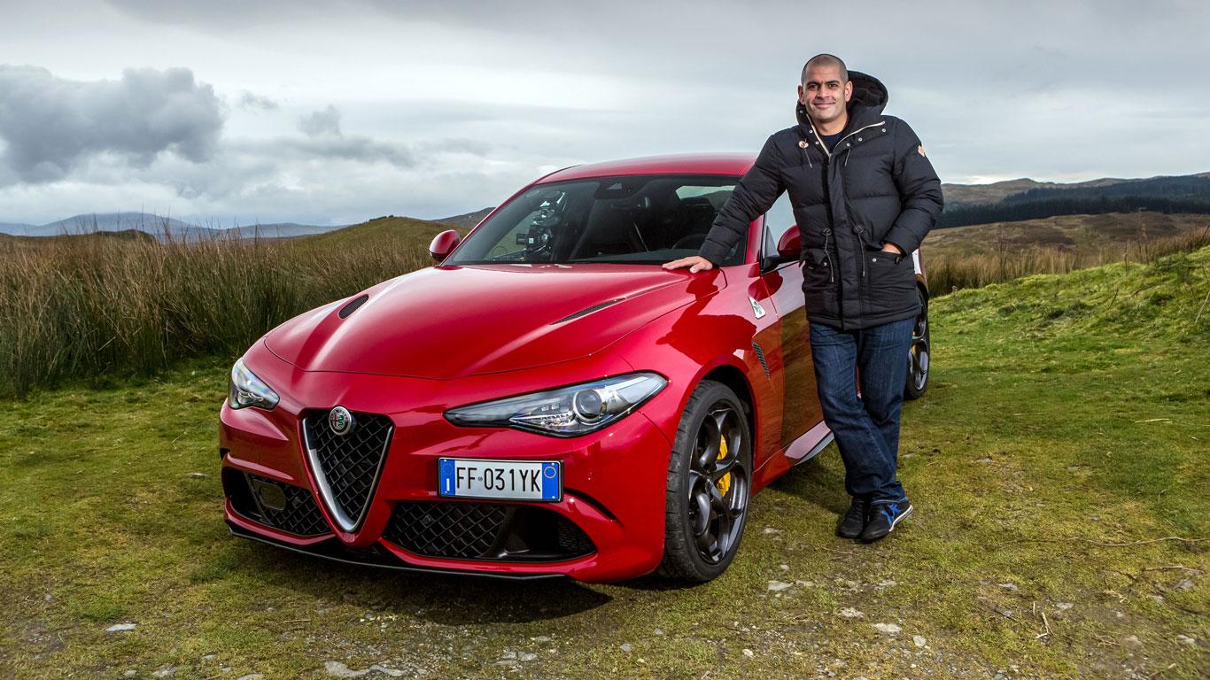 Top Gear presenter Chris Harris