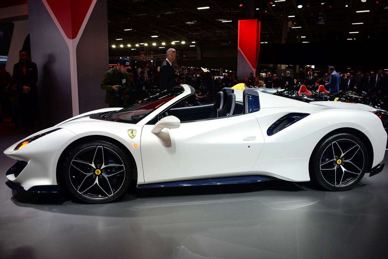 Ferrari 488 Pista Spider European debut