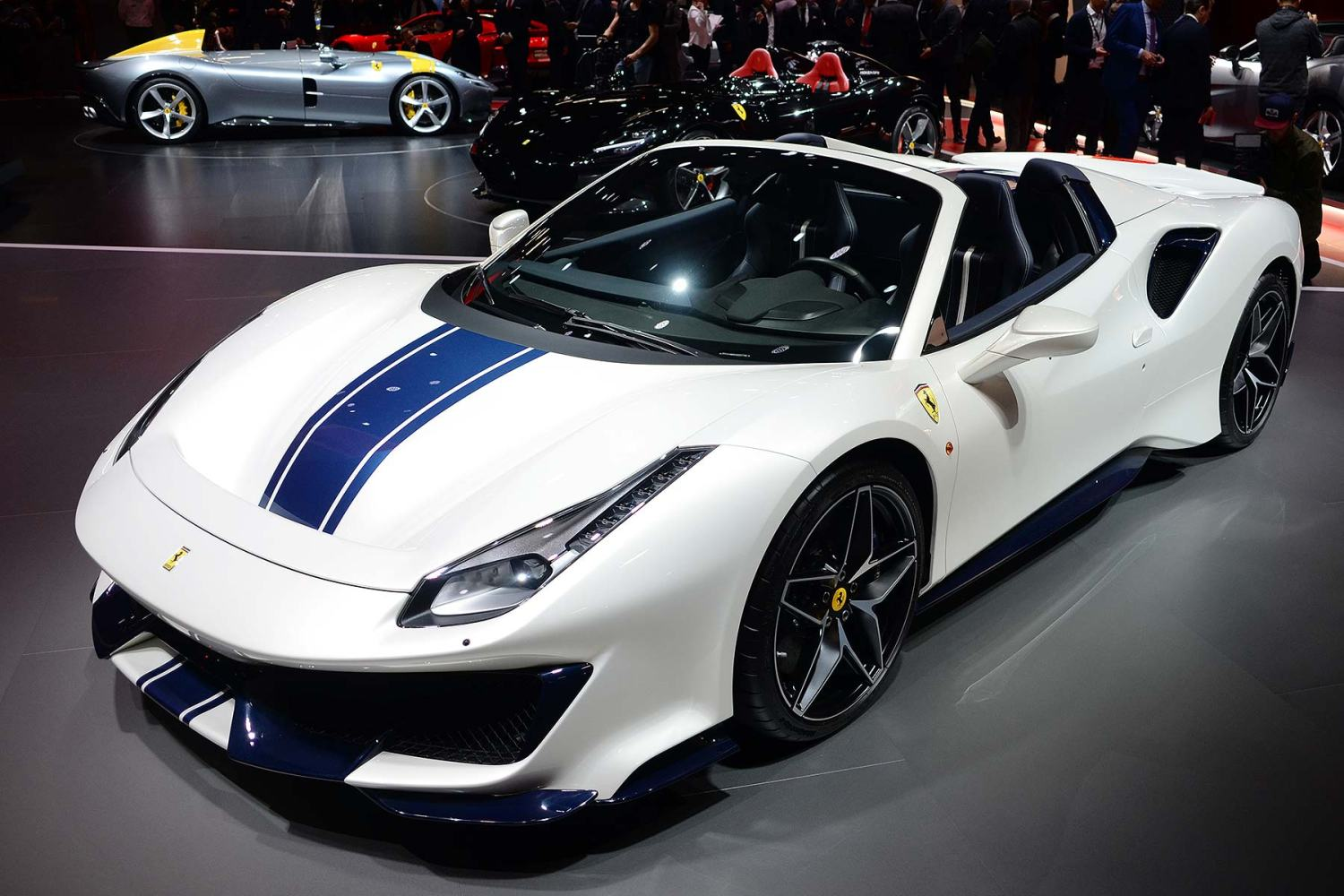 Ferrari 488 Pista Spider in Paris