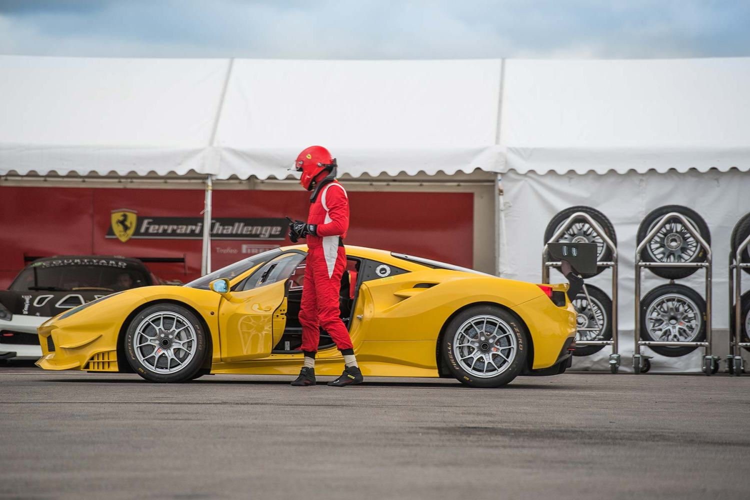 Ferrari Challenge UK race series