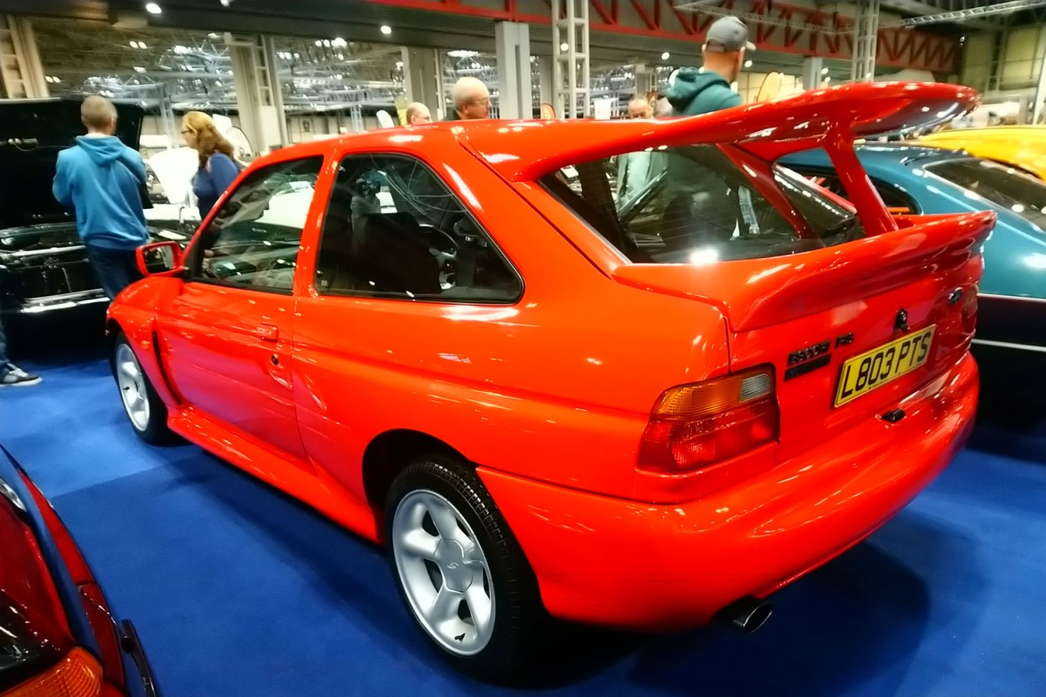 Ford Escort RS Cosworth at the 2018 NEC Classic Motor Show