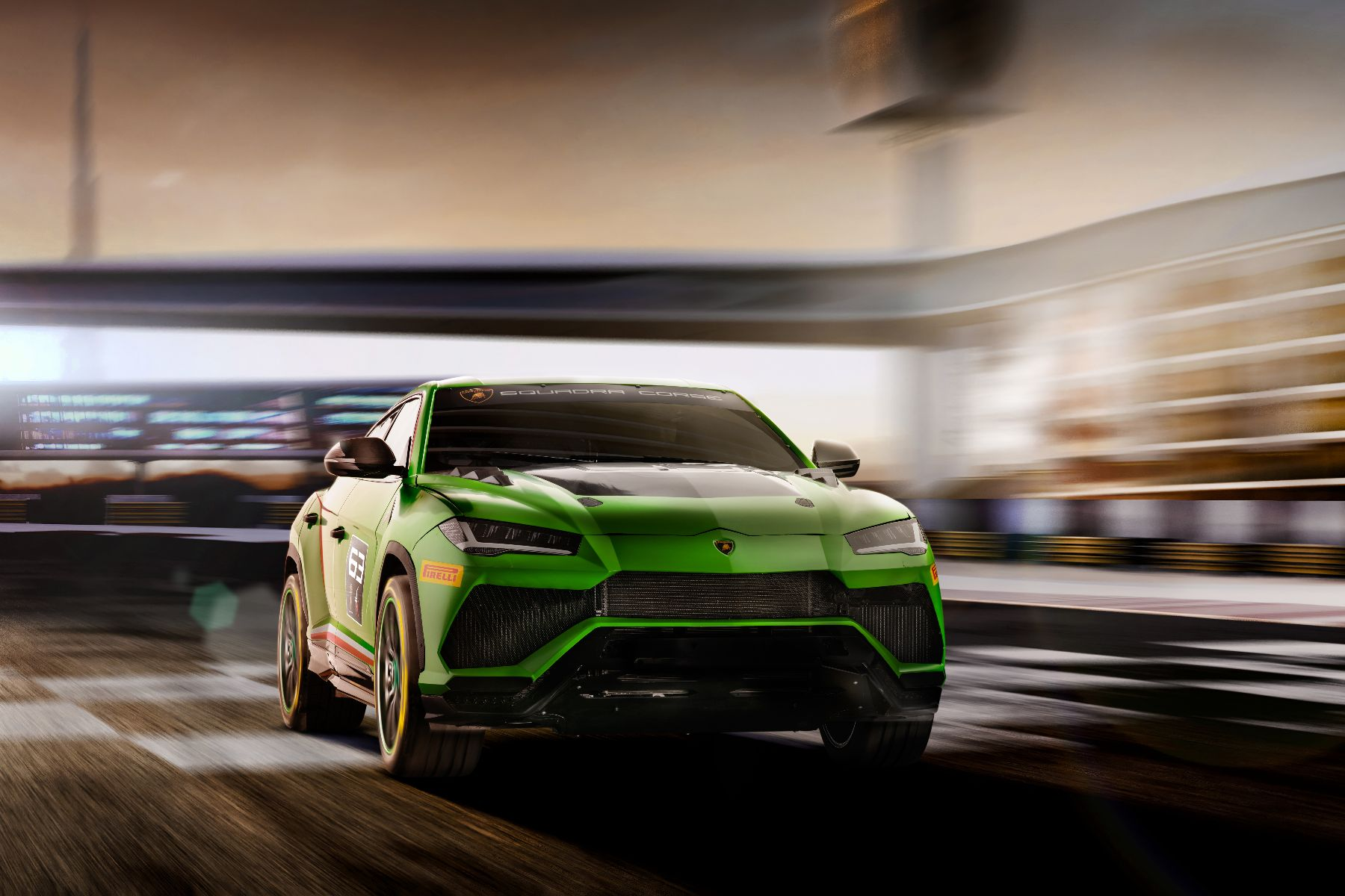 Lamborghini is sending the Urus SUV racing in 2020