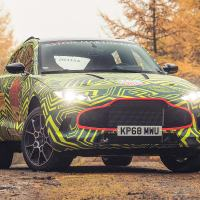 Aston Martin DBX: first photos of 2019 super SUV revealed