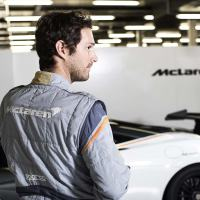 McLaren has made the lightest race suit in the world