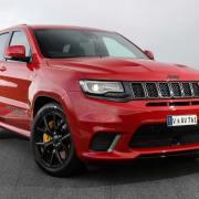 Jeep Grand Cherokee Trackhawk comes to UK