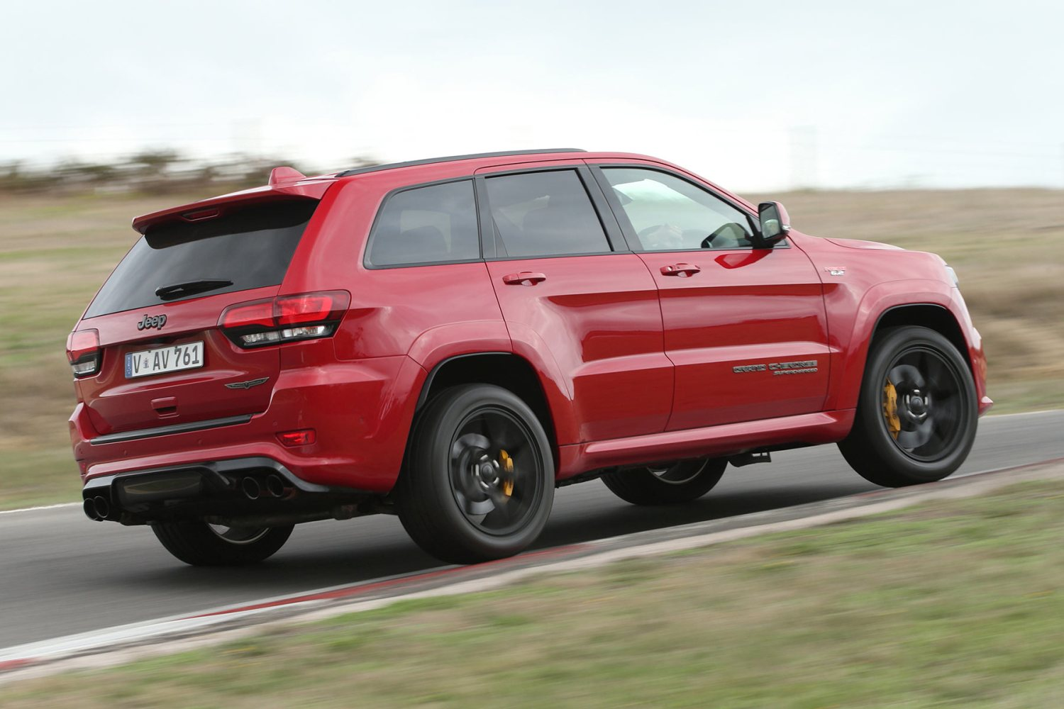 Jeep Grand Cherokee Trackhawk comes to UK