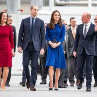 Duke and Duchess of Cambridge open McLaren's £50 million carbon fibre factory in Sheffield