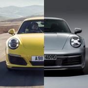 Porsche 991 992 comparison