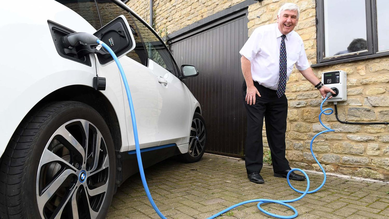 Happy Electric Nation home charge customer
