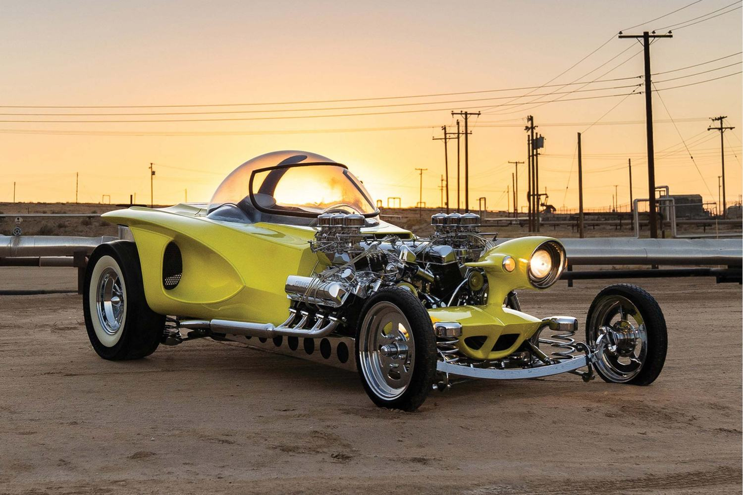 1962 Ed Roth 'Mysterion' Recreation