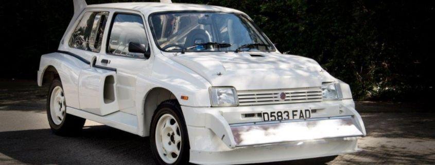 1987 MG Metro 6R4 homologation special Autosport Sale
