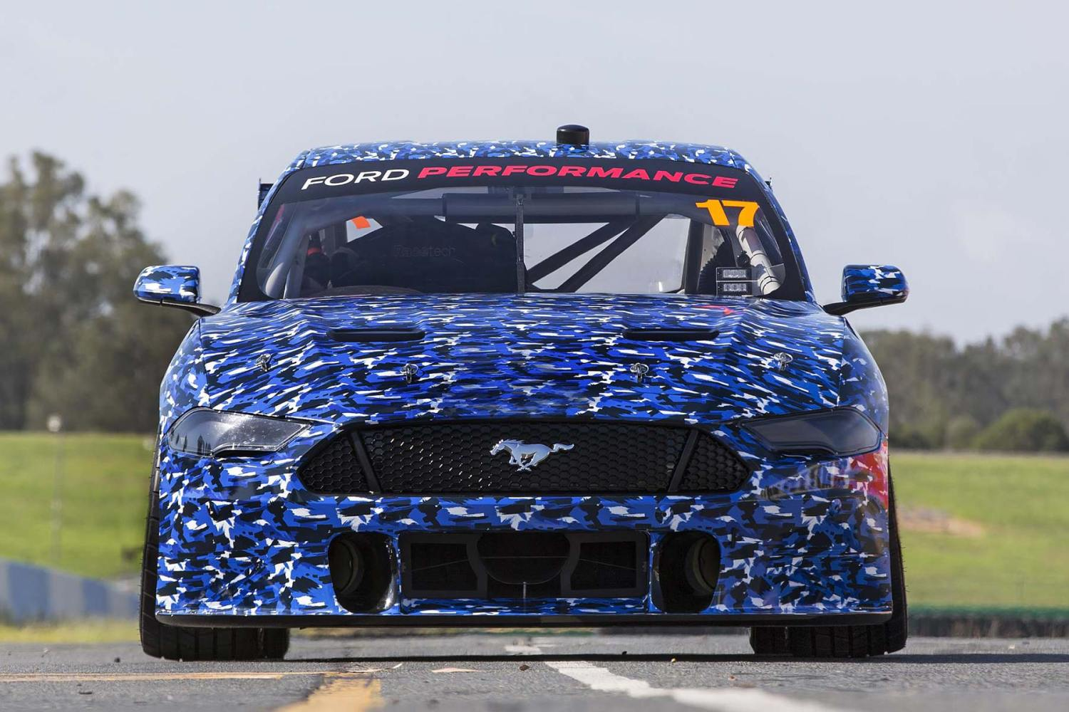 2019 Ford Performance Mustang Virgin Australia Supercar