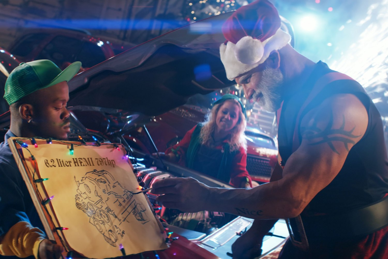 Dodge Redeye Express Hemi sleigh for Santa