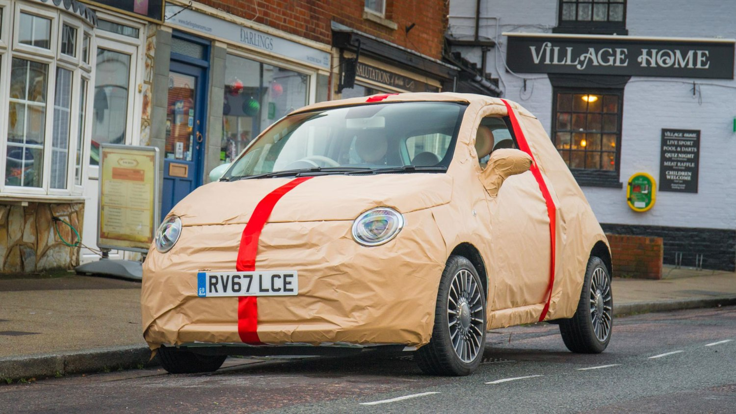 Fiat 500 wrapped