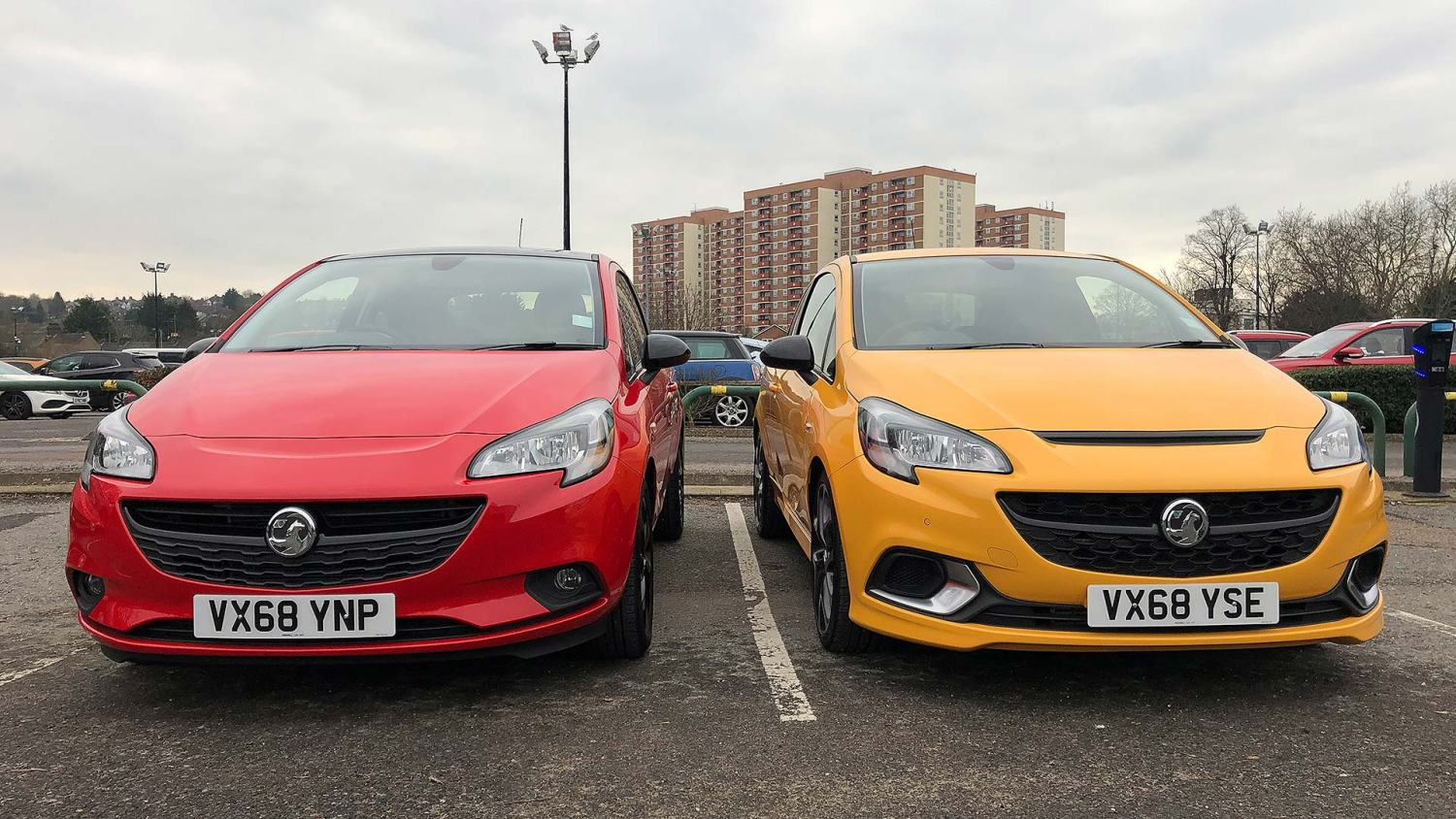 Vauxhall Corsa Griffin Edition and Corsa GSi