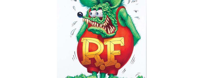 Rat Fink by Ed 'Big Daddy' Roth