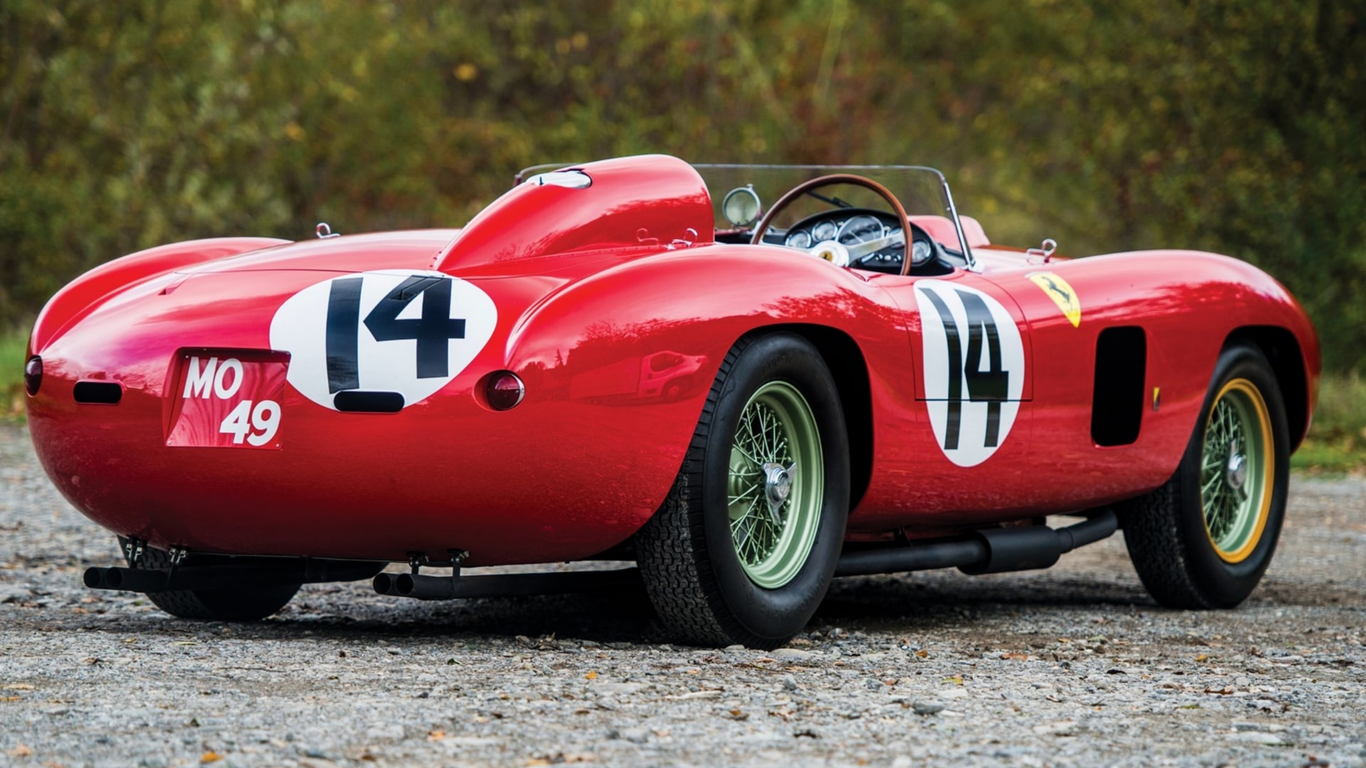 Classic Ferrari with a famous past sells for £17.5 million