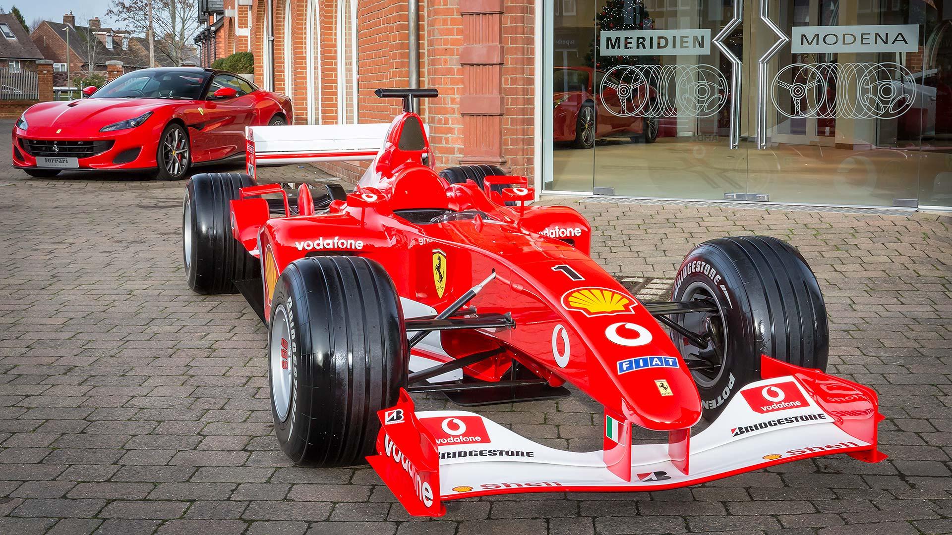 UK Ferrari dealer gets an ex-Schumacher F1 car for being ...