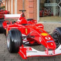 UK Ferrari dealer gets an ex-Schumacher F1 car for being best in the WORLD