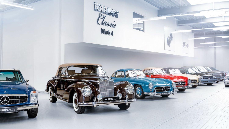 Brabus Classic Mercedes-Benz restoration