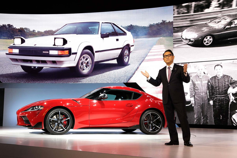 New Toyota Supra revealed at Detroit Auto Show 2019