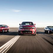 Jeep Trackhawk versus European performance heroes